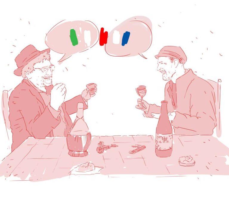 Vins italiens Vs Vins français